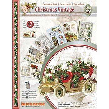 3D-Bastelmappe 'Christmas Vintage'