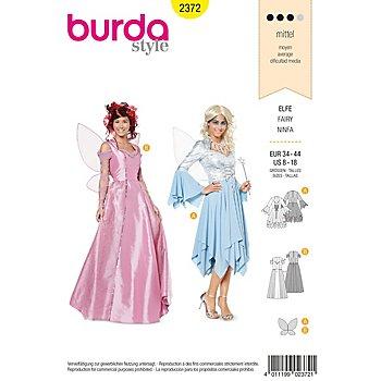 burda Patron 'Elfe - robe avec corsage et ailes'
