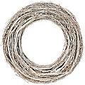 Rebenkranz, grau-gekalkt, 35 cm Ø