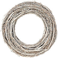 Rebenkranz, grau-natur, 35 cm Ø