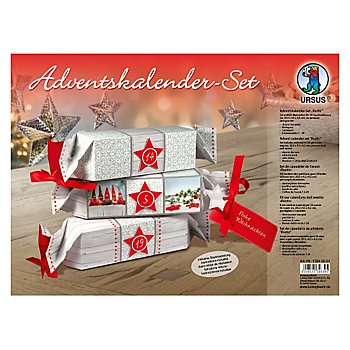 Ursus Adventskalender-Set 'Rustic'