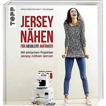 Buch 'Jersey nähen für absolute Anfänger'
