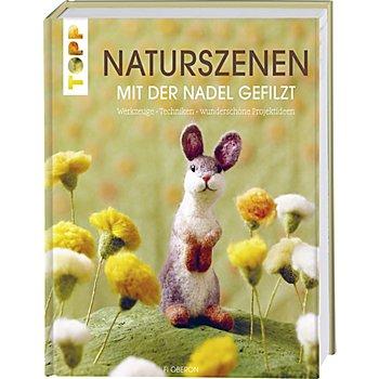 Buch 'Naturszenen mit der Nadel gefilzt'