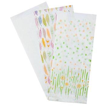 Papiertütenmix-Set 'Frühjahr II', 10 x 22 cm, 27 Stück