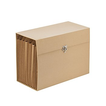 Trieur en carton, 33 x 15 x 23 cm