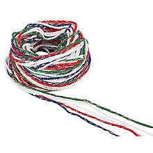 Set de cordelettes en coton 'Noël', 2 mm, 50 m