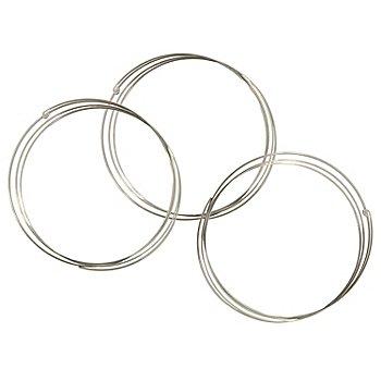Spiralarmreif, 5 - 6 cm, 3 Stück