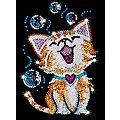 """Sequin Art Image à paillettes """"chat"""""""