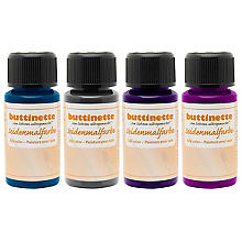 buttinette Seidenmalfarben, 4x 50ml