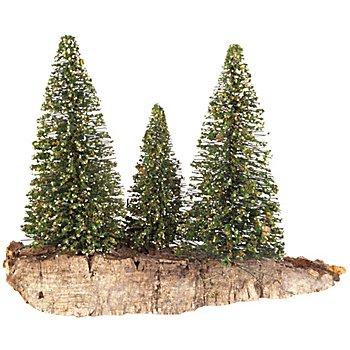 Baum-Gruppe, beschneit
