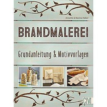 Buch 'Brandmalerei – Grundanleitungen & Motivvorlagen'