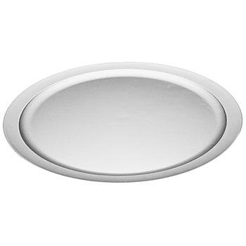 Kunststoff-Teller, silber, 40 cm Ø
