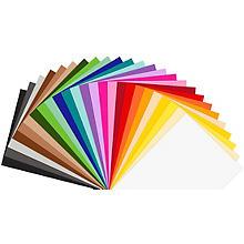 Fotokarton & Tonzeichenpapier-Mix, 50 x 70 cm, 100 Blatt