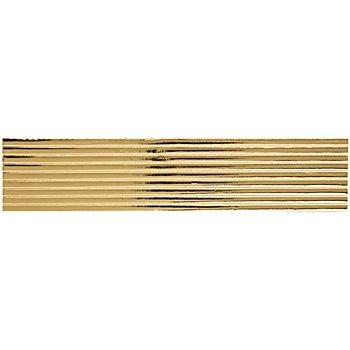 Verzierwachsstreifen gold, 22 cm, 9 Stück