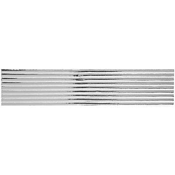 Verzierwachsstreifen silber, 22 cm, 9 Stück