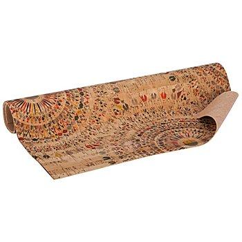 Coupon de tissu en liège 'imprimé', 34,8 x 50 cm