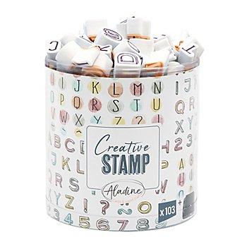 STAMPO Scrap Stempel 'Buchstaben und Zahlen'