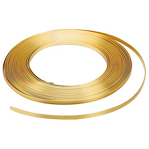 Image of Aludraht flach, gold, 10 m