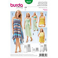 "burda Schnitt 6651 ""Smokkleid & Rock Young"""