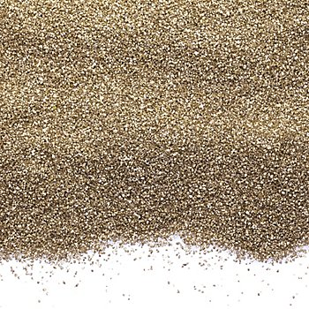 Farbsand, gold, 1 kg