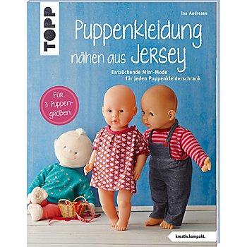 Buch 'Puppenkleidung nähen aus Jersey'