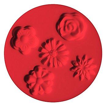 FIMO Silikonform 'Blumen'