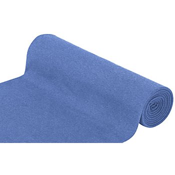 Glatter Bündchenstoff 'Comfort', jeans-melange