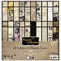 """Scrapbooking-Papier """"Vintage III"""", 30,5 x 30,5 cm, 10 Blatt"""