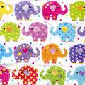 """Serviettes en papier """"éléphants"""", 33 x 33 cm, 20 pièces"""