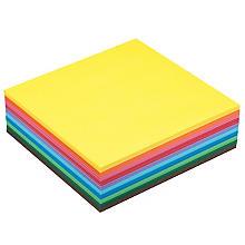 Papier de pliage, multicolore, 20 x 20 cm, 600 feuilles