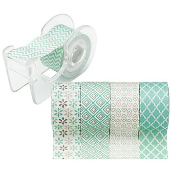 Deko-Tape-Mini, mint, 12 mm, 15 m