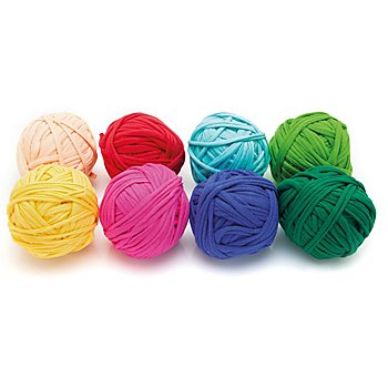 buttinette Set de fils textiles, multicolore, 1.000 g