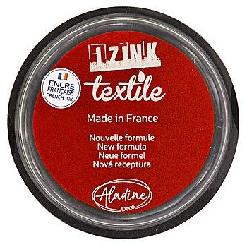 IZINK Tampon encreur pour textiles, rouge