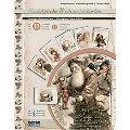 """3D-Bastelmappe """"Nostalgische Weihnachtskarten"""", für 12 Karten"""