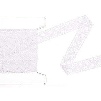 Einsatzspitze 'Linda', weiß, Breite 2 cm, Länge 5 m