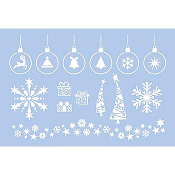 buttinette Schablone 'Weihnachtsmotive', 29,5 x 20 cm
