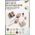 "Folia Papierblock ""Hot foil"", gold-silber-rosegold-mint, 21 x 29,7 cm, 12 Blatt"