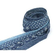 Set de rubans 'jeans', 13 mm, 5x 2 m