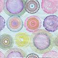 """Serviettes en papier """"cercles multicolores"""", 33 x 33 cm, 20 pièces"""