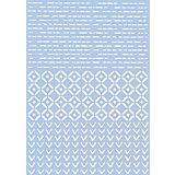 "Schablone ""Muster"", 29,7 x 42 cm"