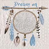 "Papierserviette ""Dream on"", 33 x 33 cm, 20 Stück"