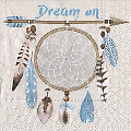 """Serviettes en papier """"Dream on"""", 33 x 33 cm, 20 pièces"""
