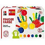 KIDS Fingerfarbenset, 6x 35 ml