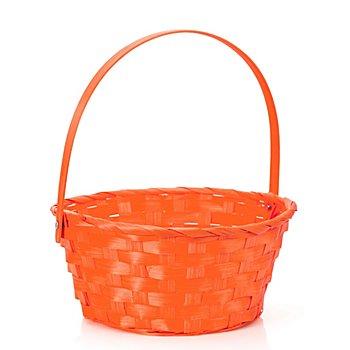 Osterkörbchen mit Henkel, orange