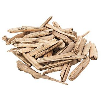 Bâtons de bois flotté, couleur naturelle, env. 5 - 20 cm, 300 g