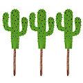 "Filz-Stecker ""Kaktus"", grün, 11,5 cm"