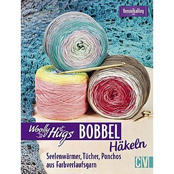 Buch 'Woolly Hugs Bobbel häkeln – Seelenwärmer, Tücher, Ponchos aus Farbverlaufsgarn'