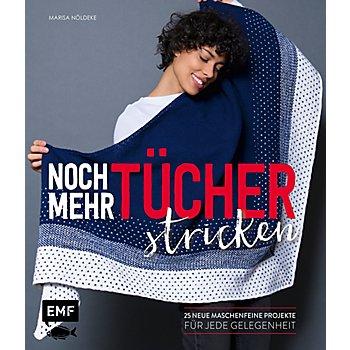 Buch 'Noch mehr Tücher stricken – 25 neue Maschenfeine Projekte für jede Gelegenheit'