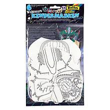 Folia Kindermasken 'Weltraum', 6 Stück