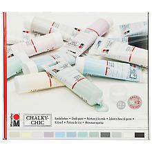 Marabu Chalky Chic Kreidefarben-Set, 12x 100 ml